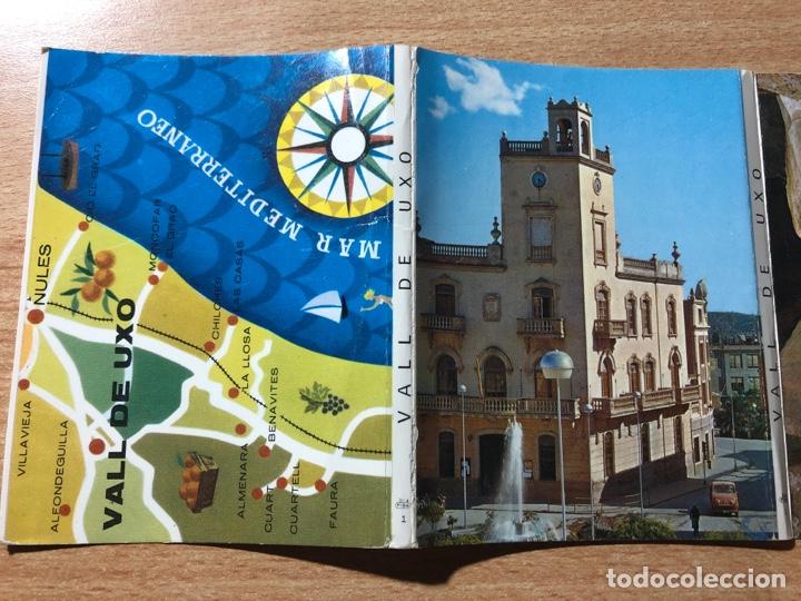VALL DE UXO. VALL D'UXO. CASTELLÓN. LIBRILLO POSTALES DESPLEGABLE. (Postales - España - Comunidad Valenciana Moderna (desde 1940))