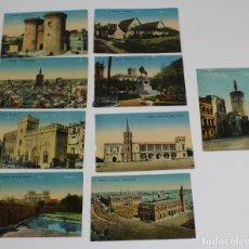 Postales: P-10038. LOTE DE 9 POSTALES VALENCIA, EDICION F C VALENCIA.. Lote 194386940