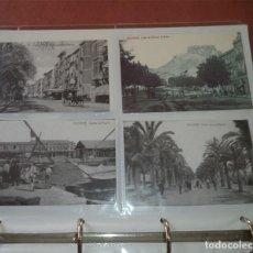 Postales: ARCHIVADOR CON 117 POSTALES ANTIGUAS DE ALICANTE REPRODUCCIONES DE VARIAS SERIES INFORMACION PRENSA.. Lote 194400036