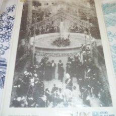 Cartoline: LAMINA ALICANTE FIESTA POR LA TRAIDA DE AGUAS DE SAX 1898 EDITADA POR AGUAS DE ALICANTE 110 AÑOS. Lote 194400927