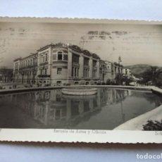 Postales: POSTAL -- ALCOY - ESCUELA DE ARTES Y OFICIOS -- CIRCULADA --. Lote 194497273