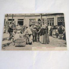 Postales: VALENCIA. MERCADO DE AVES. CIRCA 1910. POSTAL MUY ESCASA.. Lote 194500878