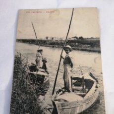 Postales: 329. VALENCIA. ALBUFERA. CIRCA 1915.. Lote 194502485