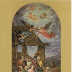 Postales: == P1783 - POSTAL - PARROQUIA DE SAN FRANCISCO DE BORJA - VALENCIA - MURAL EL NACIMIENTO. Lote 194518807