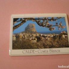 Postales: BLOCK DE 10 POSTALES TIPO ACORDEÓN. CALPE COSTA BLANCA. ED. POSTALES HNOS. GALIANA.. Lote 194528221