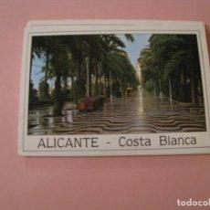 Postales: BLOCK DE 10 POSTALES TIPO ACORDEÓN. ALICANTE COSTA BLANCA. ED. POSTALES HNOS. GALIANA.. Lote 194528457