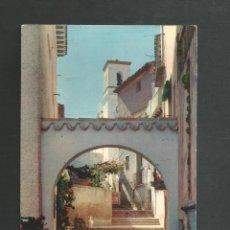 Postales: POSTAL CIRCULADA - BENIDORM 54 - ALICANTE - EDITA RUECK. Lote 194551495