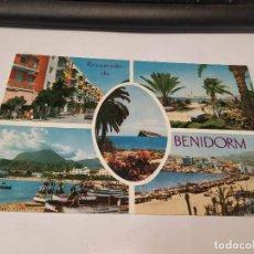 Postales: ALICANTE - POSTAL BENIDORM - RECUERDO. Lote 194699955