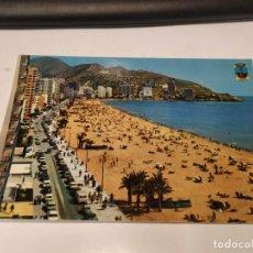 Postales: ALICANTE - POSTAL BENIDORM - PLAYA DE LEVANTE. Lote 194703912