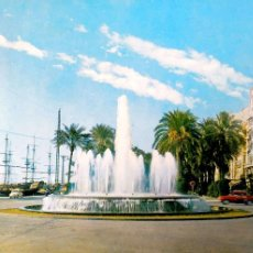 Postales: ALICANTE. 107 FUENTE LUMINOSA. RO-FOTO. USADA CON SELLO. COLOR. Lote 194775801