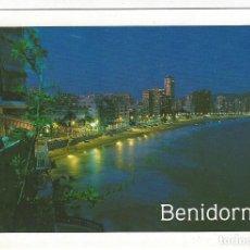 Postales: 80 - BENIDORM .- PLAYA DE LEVANTE. ATARDECER.. Lote 194781115