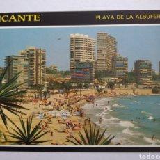 Postales: POSTAL 292 ALICANTE PLAYA DE LA ALBUFERETA EDICIONES ARRIBAS. Lote 194783391