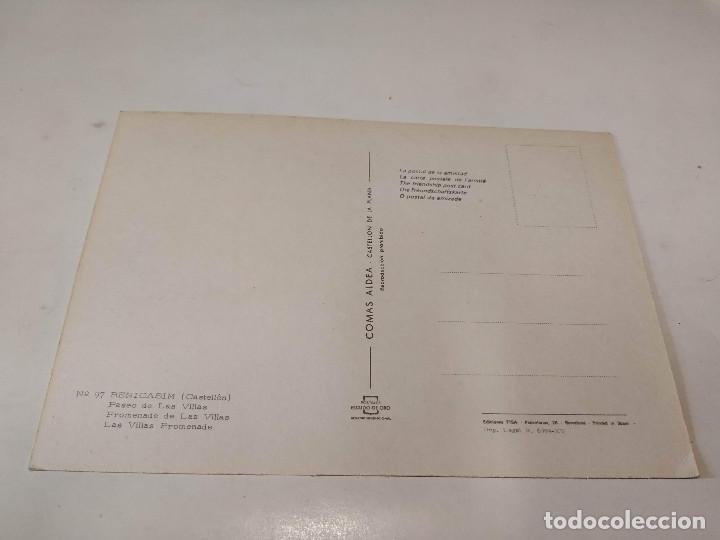 Postales: CASTELLÓN - POSTAL BENICASIM - PASEO DE LAS VILLAS - Foto 2 - 194881796