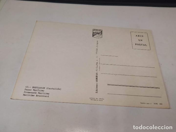 Postales: CASTELLÓN - POSTAL BENICASIM - PASEO MARÍTIMO - Foto 2 - 194882041