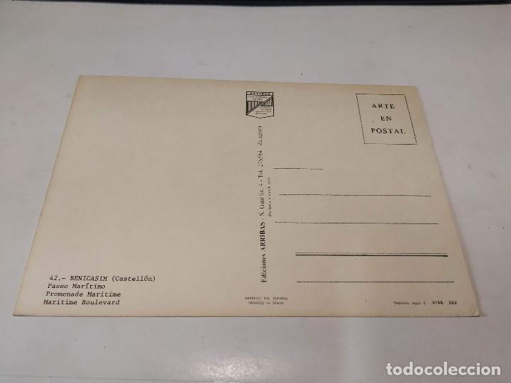 Postales: CASTELLÓN - POSTAL BENICASIM - PASEO MARÍTIMO - Foto 2 - 194882190