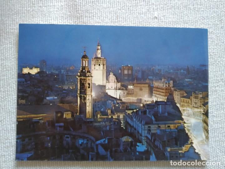 VALENCIA NOCHE (Postales - España - Comunidad Valenciana Antigua (hasta 1939))