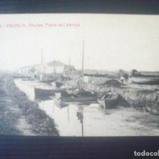 Postales: VALENCIA-ALBUFERA-PUERTO DE CATARROJA. Lote 194926632