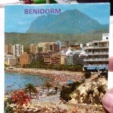 Postales: POSTAL BENIDORM PLAYA DE PONIENTE N 163 GALIANA. Lote 194936087