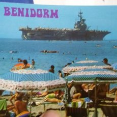 Postales: POSTAL BENIDORM PLAYA DE LEVANTE N 181 GALIANA. Lote 194938327