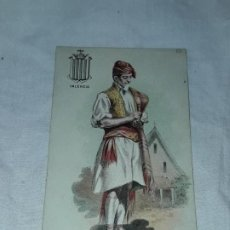 Postales: ANTIGUA POSTAL REGALO A LOS CONSUMIDORES CHOCOLATE JAIME BOIX BARCELONA TÍPICO VALENCIA. Lote 194944810