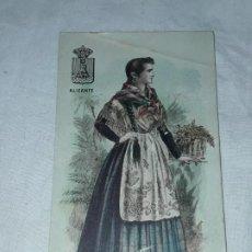 Postales: ANTIGUA POSTAL REGALO A LOS CONSUMIDORES CHOCOLATE JAIME BOIX BARCELONA TÍPICO ALICANTE. Lote 194945983