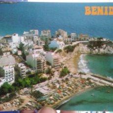 Postales: POSTAL BENIDORM VISTA AEREA CASTILLO Y PUERTA N 160 GALIANA. Lote 194959760