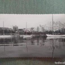 Postales: POSTAL ALICANTE PUERTO VISTA PARCIAL. Lote 194992817