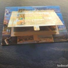 Postales: BENICASIM, CASTELLÓN. POSTAL CON 16 VISTAS Y OTRAS 10 FOTOGRAFÍAS EN FUELLE. Lote 194993828