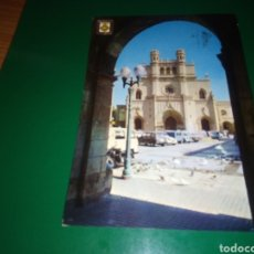 Postales: ANTIGUA POSTAL DE CASTELLÓN. IGLESIA ARCIPRESTAL. AÑOS 60. Lote 195015625