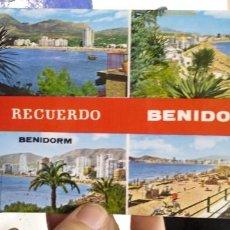 Postales: POSTAL BENIDORM N 745 RUECK. Lote 195037950