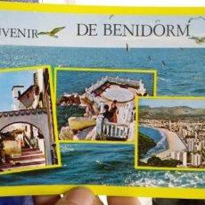 Postales: POSTAL BENIDORM VARIOS ASPECTOS N 185 RUECK. Lote 195039173