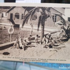 Postales: ANTIGUA POSTAL BUSOT ALICANTE. Lote 195062983