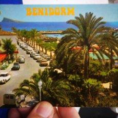 Postales: POSTAL BENIDORM ALICANTE PARQUE DE COLÓN N 47 GALIANA. Lote 195104572