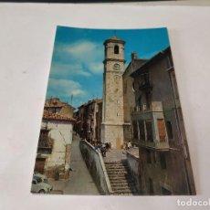 Postales: CASTELLÓN - POSTAL VILLAFRANCA DEL CID - IGLESIA PARROQUIAL. Lote 195124447