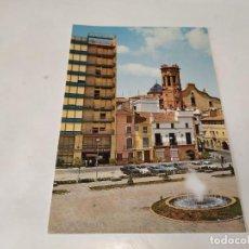 Postales: CASTELLÓN - POSTAL VILLARREAL DE LOS INFANTES - PLAZA GENERALÍSIMO - DETALLE. Lote 195124673