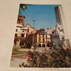Postales: CASTELLÓN - POSTAL VILLARREAL DE LOS INFANTES - MONUMENTO AL REY DON JAIME I. Lote 195124765