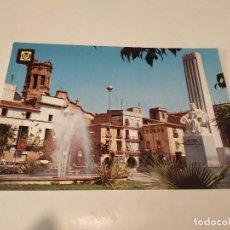Postales: CASTELLÓN - POSTAL VILLARREAL DE LOS INFANTES - PLAZA DEL GENERALÍSIMO. Lote 195124858