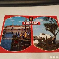 Postales: CASTELLÓN - POSTAL VINAROZ - DIVERSOS ASPECTOS. Lote 195125311