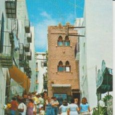 Postales: (6480) PEÑISCOLA. CASTELLON . CASA DE LAS CONCHAS ... SIN CIRCULAR. Lote 195136617