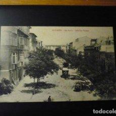 Postales: ALICANTE, CALLE SAN VICENTE.. Lote 195223422