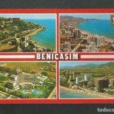 Postales: POSTAL CIRCULADA - BENICASIM 161 - DIVERSOS ASPECTOS - CASTELLON DE LA PLANA - EDITA ESCUDO DE ORO. Lote 195268123