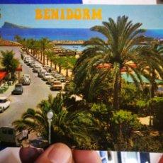 Postales: POSTAL BENIDORM PARQUE DE COLON N 47 GALIANA S/C 1974. Lote 195275217