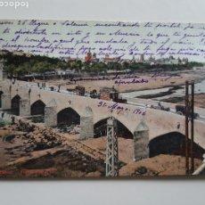 Postales: VALENCIA VISTA GENERAL FECHADA Y SELLADA EL 31 DE MAYO DE 1904 ENVIADA A BILBAO. Lote 195284237