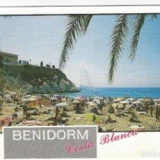 Postales: 51 - BENIDORM.- COSTA BLANCA .- PLAYA DEL MAL PAS.. Lote 195288488