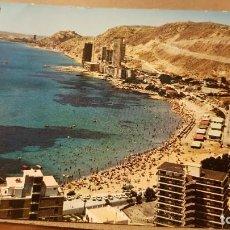 Postales: POSTAL . ALICANTE. PLAYA DE LA ALBUFERETA. AÑOS 60 - 70. Lote 195317143