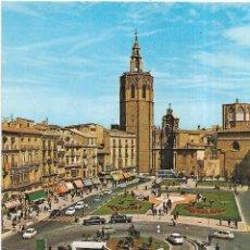 Postales: == B1476 - POSTAL - VALENCIA - PLAZA DE ZARAGOZA. Lote 195353406