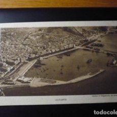Postales: ALICANTE, CLICHE Cª ESPAÑOLA DE AVIACION.. Lote 195357407