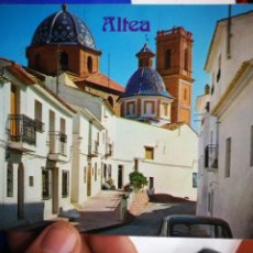 Postales: POSTAL ALTEA ALICANTE CALLE TÍPICA N 52 GALIANA S/C. Lote 195371882
