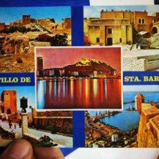 Postales: POSTAL ALICANTE CASTILLO DE SANTA BÁRBARA N 177 PAPISA. Lote 195379462