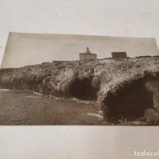 Postales: POSTAL FOTOGRÁFICA OROPESA (CASTELLÓN) - EL FARO. Lote 195399262